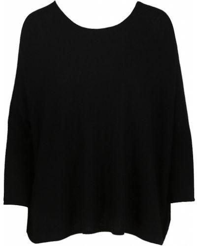 Кашемировый свитер - черный Maje