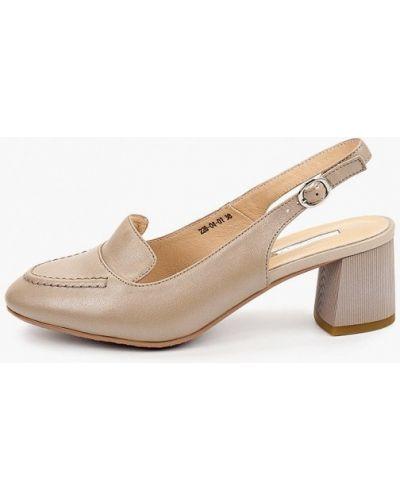 Бежевые весенние туфли Dino Ricci