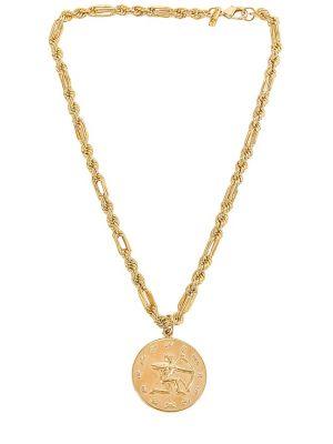 Złoty medalion Joolz By Martha Calvo