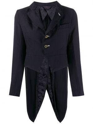 Синий пиджак с карманами на пуговицах Comme Des Garçons Girl
