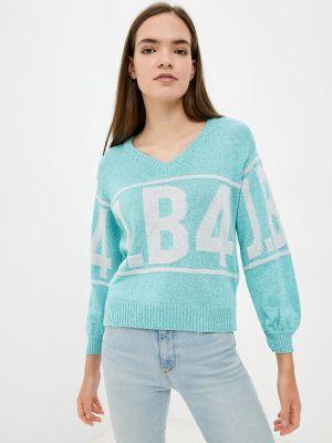 Бирюзовая итальянская пуловер J.b4