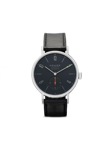 Кожаные часы - синие Nomos Glashütte