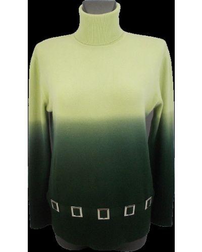 Шерстяной свитер - зеленый Gertie