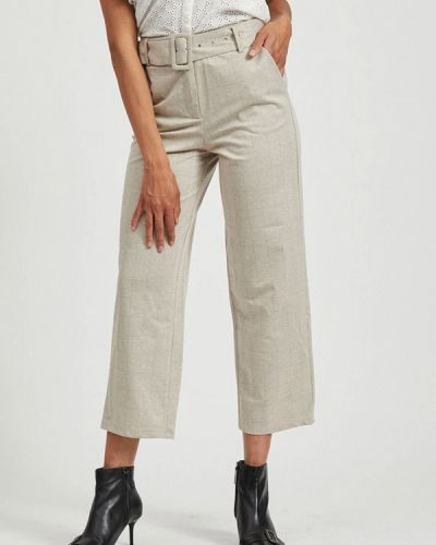 Повседневные серые брюки Vila