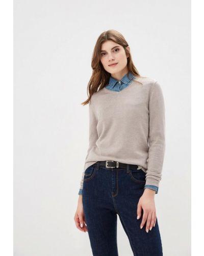 Серый пуловер Sela