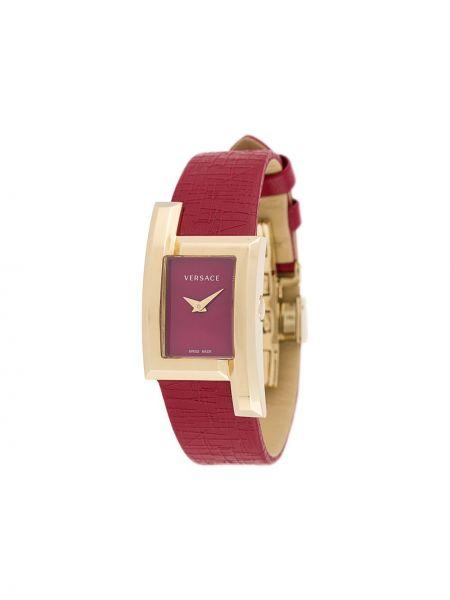 Zegarek prostokątny do twarzy Versace