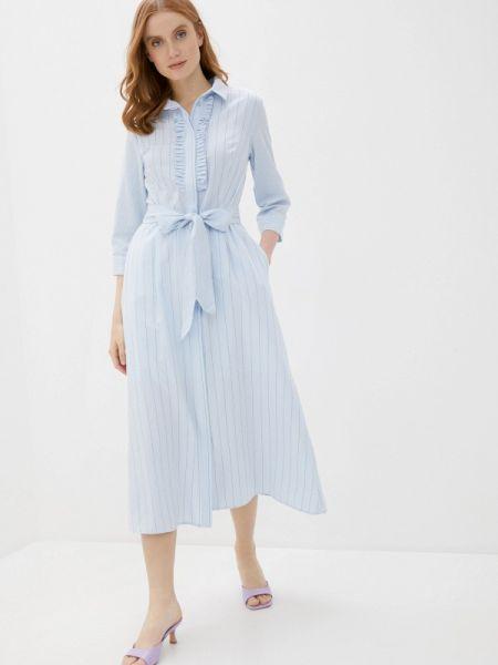 Платье - голубое Baon