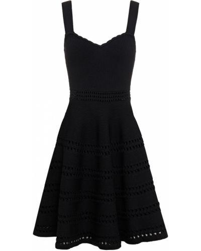 Платье мини - черное Maje