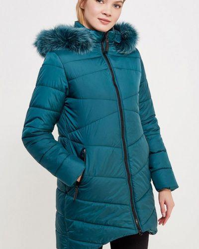 Утепленная куртка осенняя зеленая Sk-house