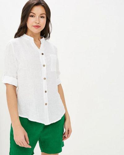 Блузка с коротким рукавом белая итальянский Perfect J