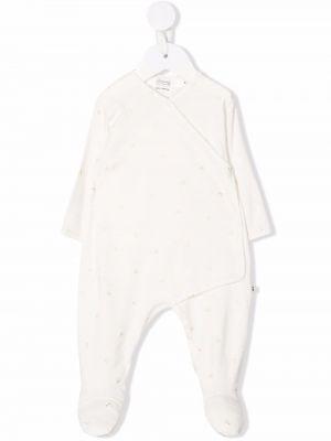 Piżama z długimi rękawami - beżowa Bonpoint