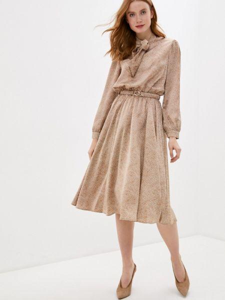 Бежевое платье Lorani