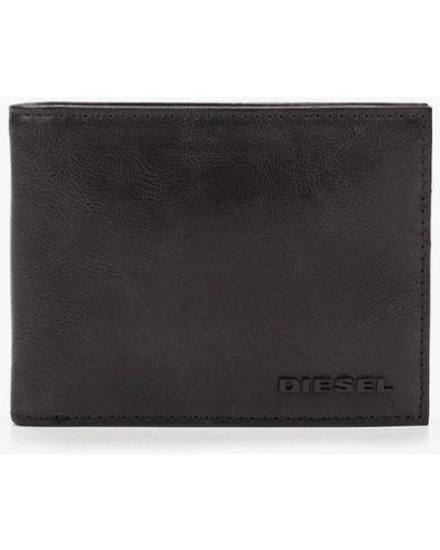 Черный кожаный кошелек Diesel