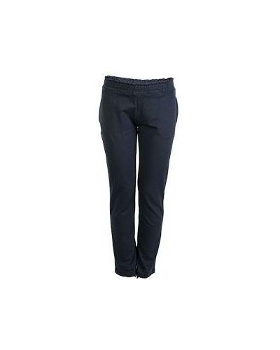 Спортивные брюки летние синие Bruno Manetti