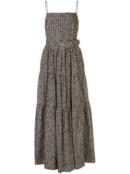 Платье с поясом на бретелях на молнии Nicholas
