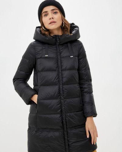 Черная куртка осенняя Geox