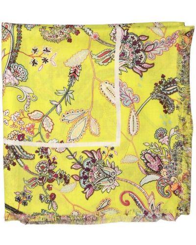 Żółty szalik elegancki Twinset