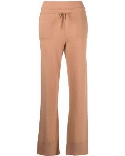 Кашемировые леггинсы - коричневые Max & Moi