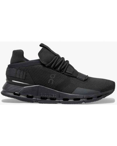 Черные кроссовки для бега для бега On Running
