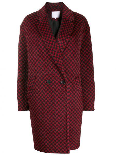 Пальто с капюшоном на пуговицах Lala Berlin