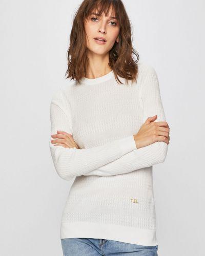 Sweter z wzorem długo Tommy Hilfiger