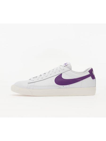 Брендовый кожаный белый пиджак Nike