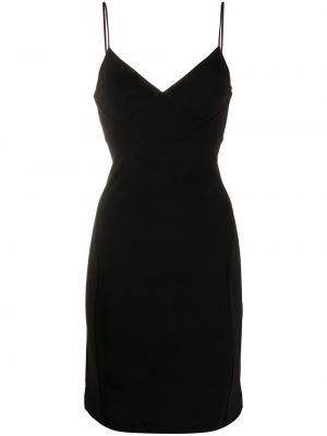 Облегающее платье на бретелях с V-образным вырезом Dsquared2