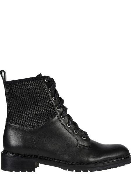 Кожаные ботинки - черные Sofia Baldi
