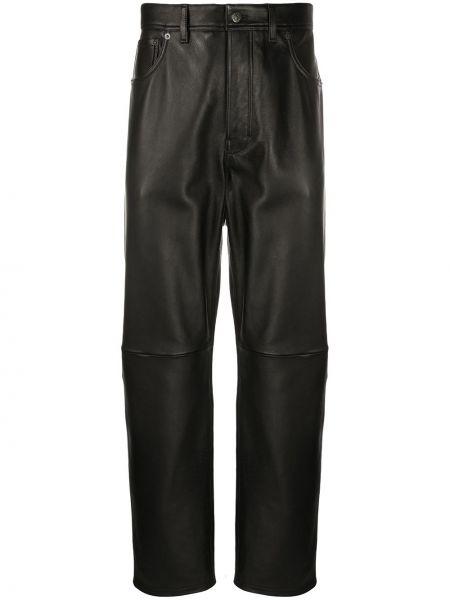 Klasyczne spodnie o prostym kroju z kieszeniami Acne Studios