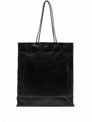 Czarna torebka z printem Medea