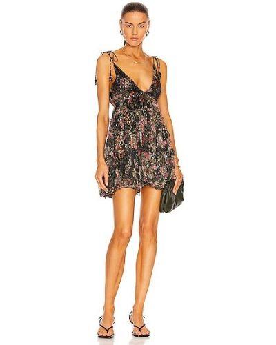 Платье мини - черное Rococo Sand