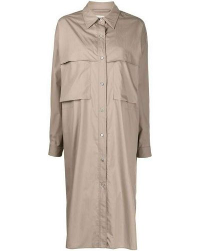 Szara sukienka Lemaire