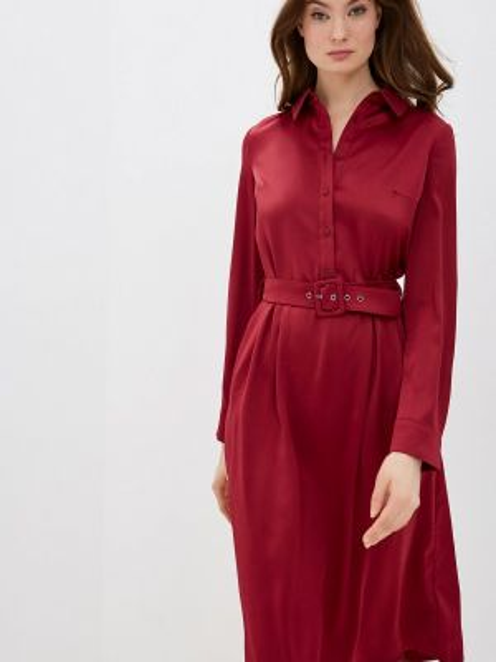 Платье - красное Zarina