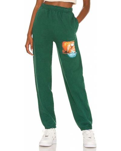 Zielone spodnie na lato Boys Lie