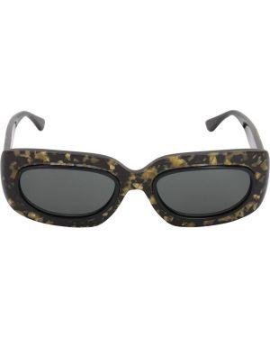 Ажурные муслиновые черные солнцезащитные очки George Keburia