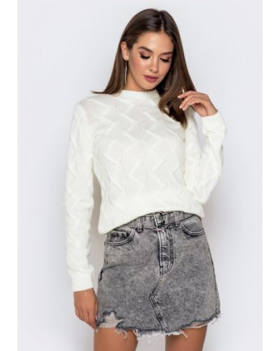 Шерстяной свитер Dressa