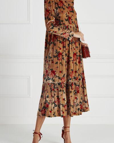 Платье прямое бежевое Vivetta