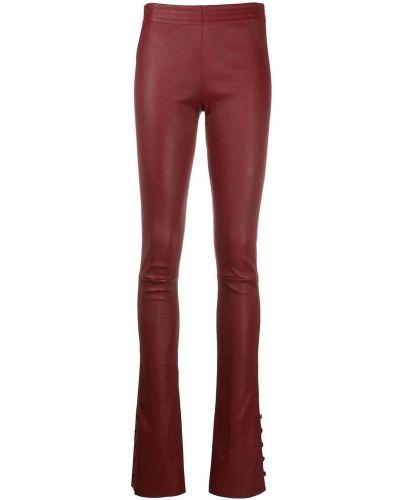 Czerwone spodnie Drome