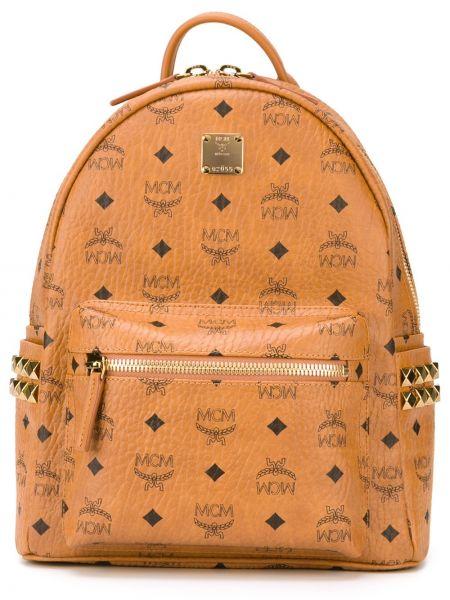 Plecak brązowy Mcm