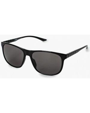 Муслиновые черные солнцезащитные очки квадратные Puma