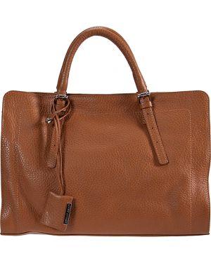 Кожаная сумка - коричневая Gianni Chiarini