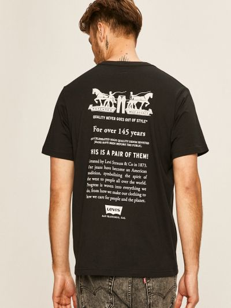 Тонкая трикотажная футболка с вырезом Levi's®