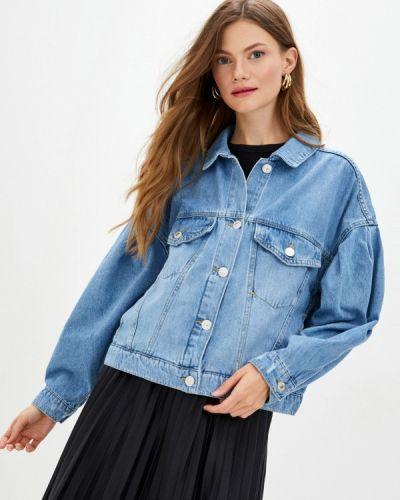 Синяя джинсовая куртка Defacto