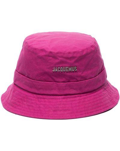 Хлопковая шапка - фиолетовая Jacquemus