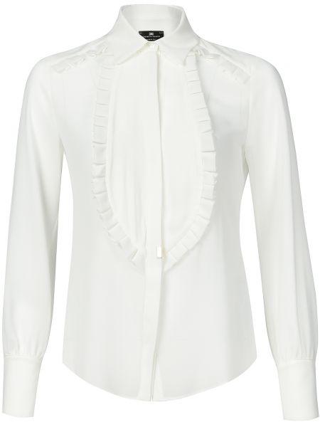 Блузка белая Elisabetta Franchi