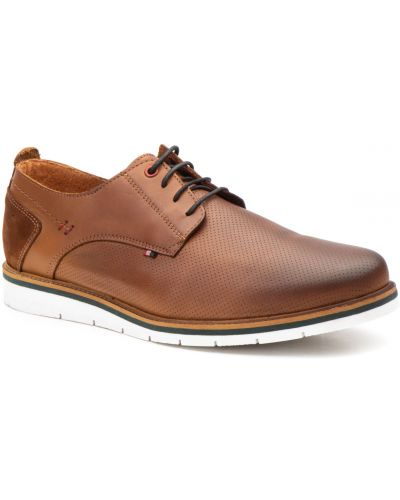 Кожаные туфли - синие Nautic