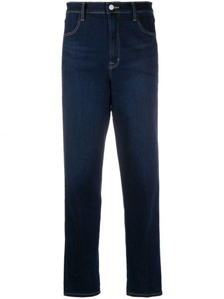 Прямые брендовые джинсы на молнии J Brand