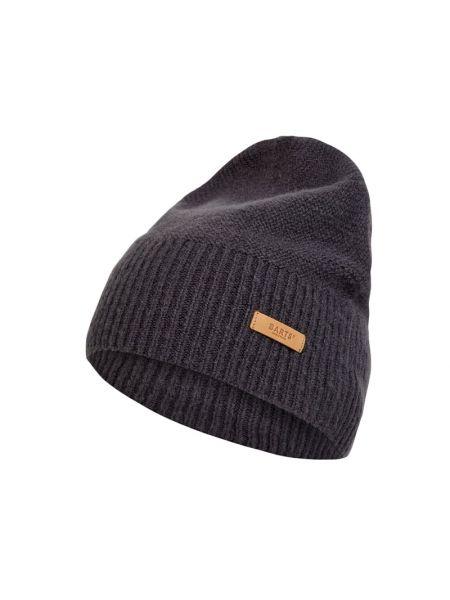 Prążkowana niebieska czapka beanie Barts