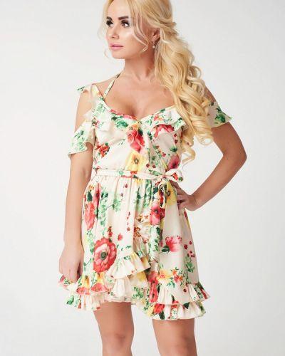 Платье мини  Luxlook