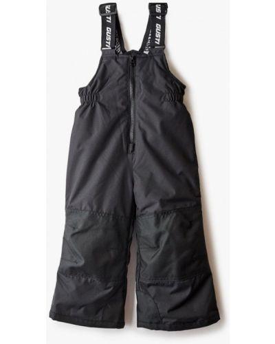 Утепленные черные брюки Gusti